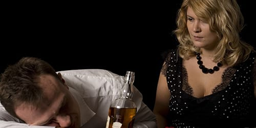умерший муж пьяный
