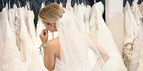 выбирать свадебное платье во сне