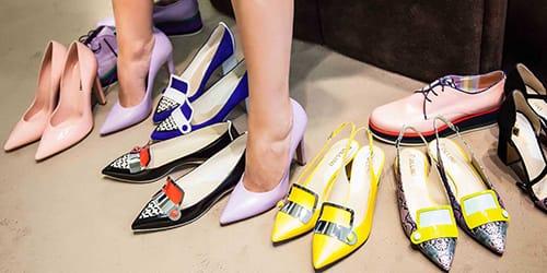 выбирать женскую обувь
