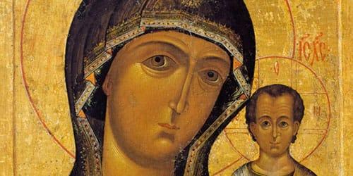 лик божьей матери