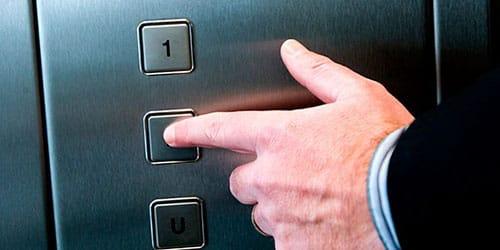 ездить на лифте