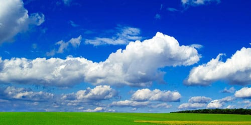 голубое небо во сне