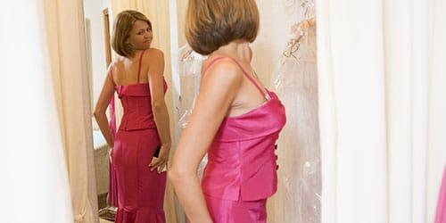 одевать красивое платье