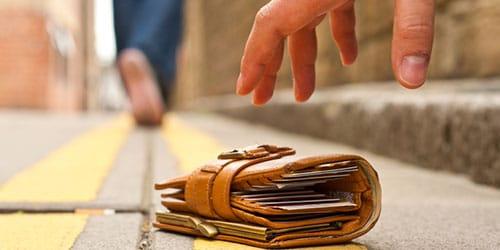 находка денег