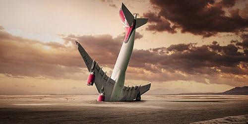 к чему снится падение самолета