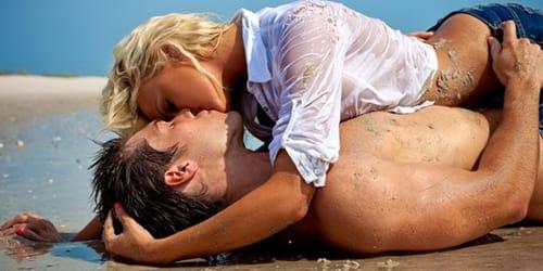 поцелуй с бывшим парнем в губы