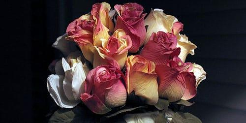 бывший муж подарил цветы