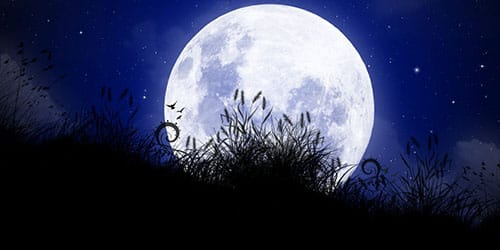 полная луна во сне