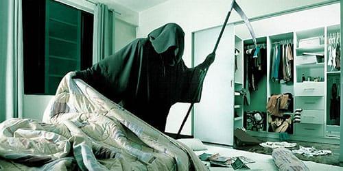 к чему снится смерть с косой
