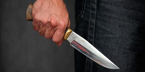 убить волка ножом