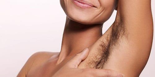 волосы на теле у женщины