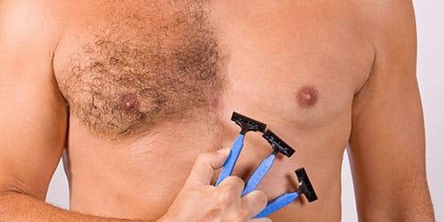 брить волосы на теле