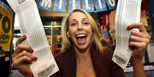 выиграть в лотерею крупную сумму денег