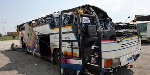 к чему снится перевернулся автобус с людьми