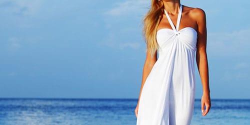 видеть себя в белой одежде