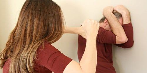 бить бывшего мужа