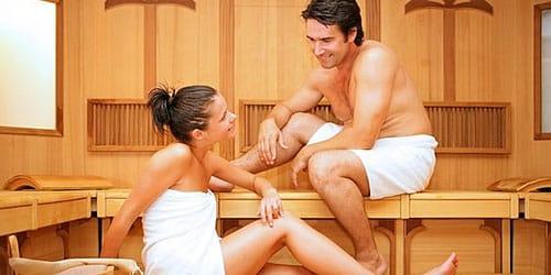 мыться в бане с мужчиной