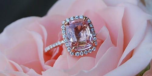 подарили кольцо с камнем