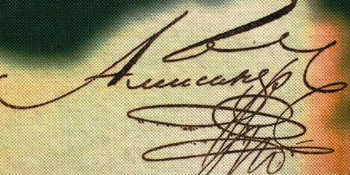 ставить подпись