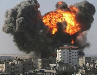 Война бомбежка