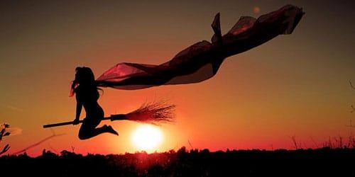летающая баба яга