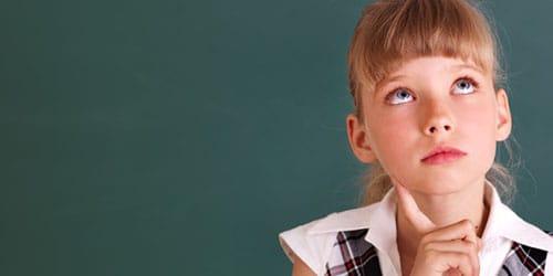 девочка из класса