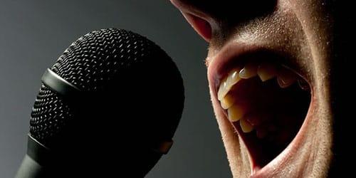 выступление известного певца