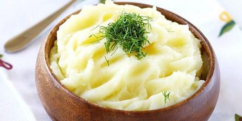 кушать картофельное пюре