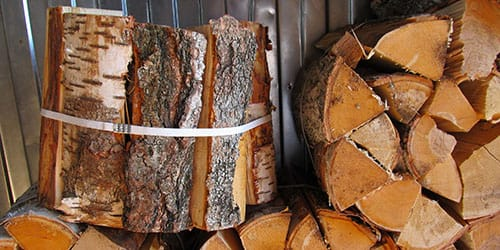видеть колотые дрова