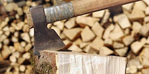 колоть дрова во сне