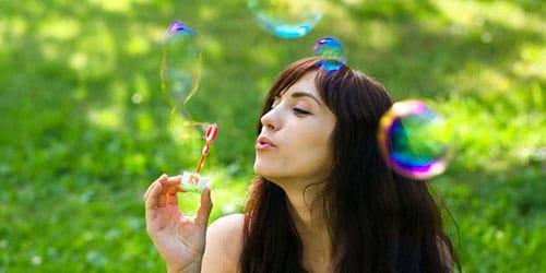 красивые мыльные пузыри