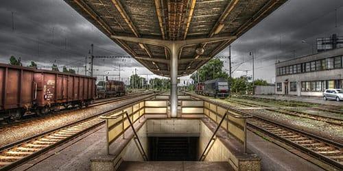 железнодорожный подземный переход