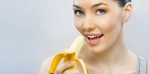 кушать бананы