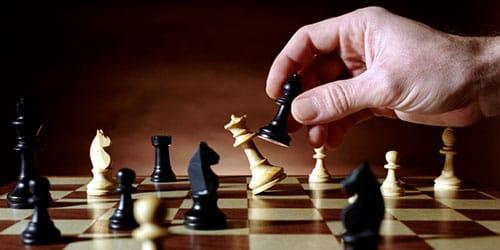 партия в шахматы