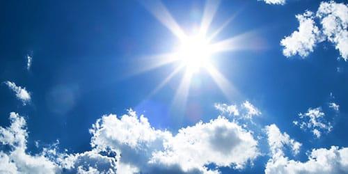 солнце в зените