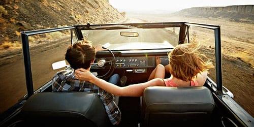 ехать на старой машине