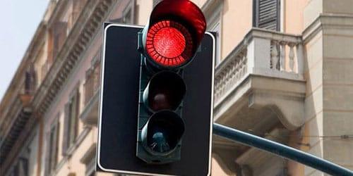 красный цвет светофора
