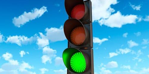 зеленый цвет светофора