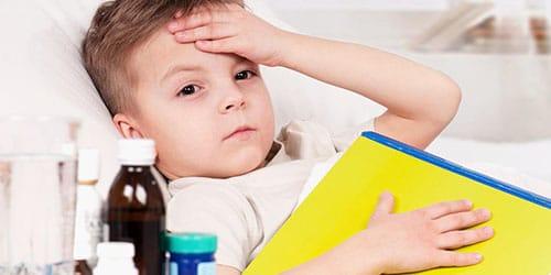 видеть нездорового ребенка
