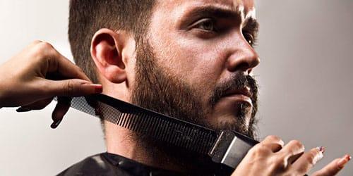 брить бороду знакомому парню