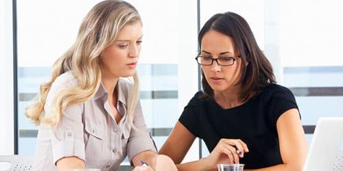 коллега по работе женщина