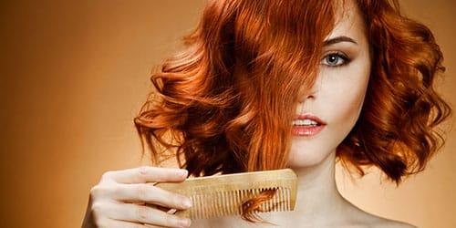 расчесывать кучерявые волосы