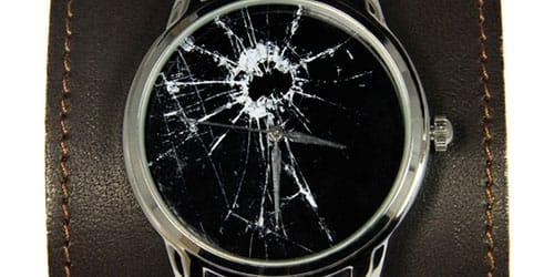 разбить часы
