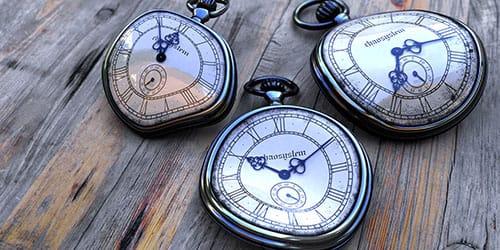 поломанные часы