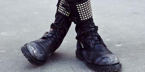 носить старую обувь