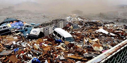 наблюдать за стихийным бедствием