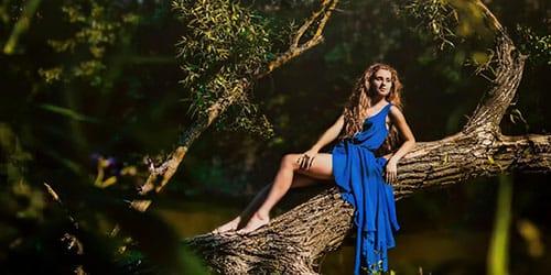 подняться на дерево