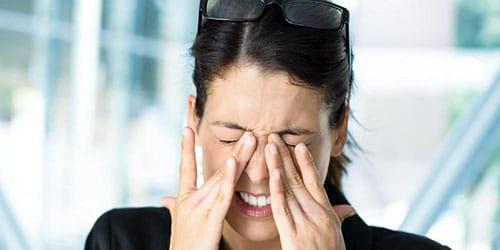 больные глаза во сне