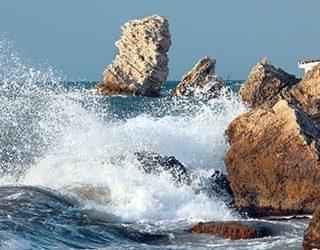 Большие волны в шторм