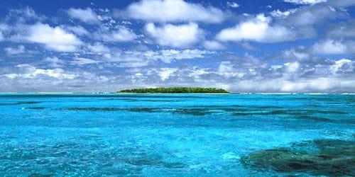 спокойное чистое море
